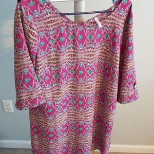 Pinkblush tunic dress